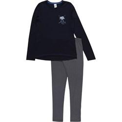65e0686a5f20fa Sanetta piżama dziecięce czarna z bawełny