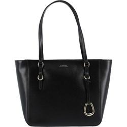 c7c43bc4ea26c Shopper bag Lauren Ralph duża bez dodatków elegancka