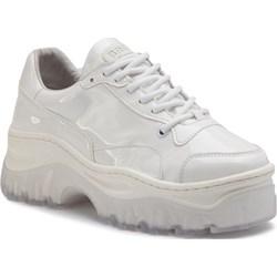21ad00dc7da1 Sneakersy damskie Bronx skórzane sznurowane gładkie ...