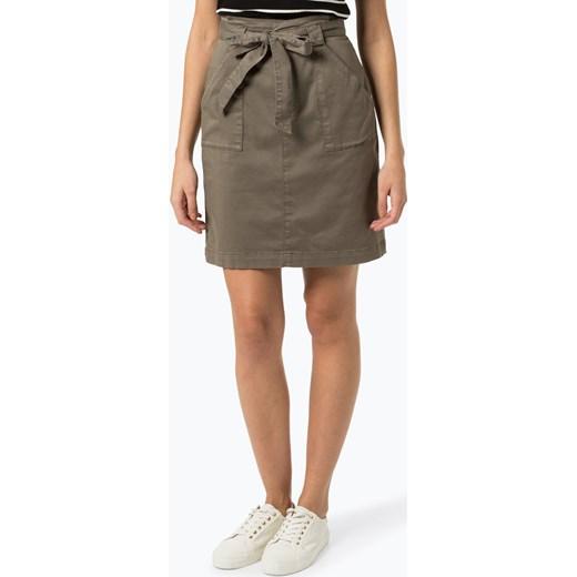 tani Spódnica Boss Casual mini Odzież Damska IH zielony Spódnice MCQD