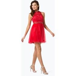 a0437eda5b Sukienka Suddenly Princess bez rękawów czerwona na bal na wesele elegancka