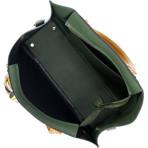 157553ec7f649 ... Wittchen shopper bag z kokardką elegancka na ramię ...