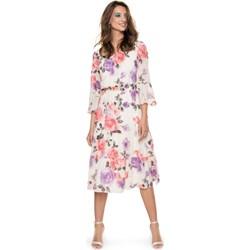 8196bdc241 Sukienka L af na spacer rozkloszowana midi
