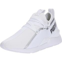 43c73583 Puma buty sportowe damskie do biegania białe sznurowane na wiosnę gładkie