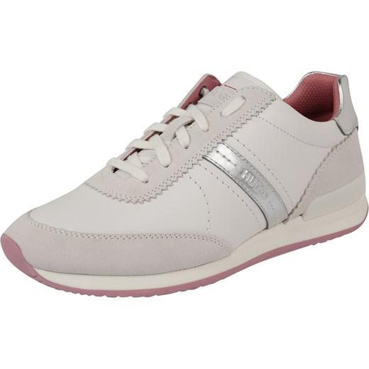 52db180e7f992 Buty sportowe damskie Hugo Boss sneakersy młodzieżowe sznurowane w ...