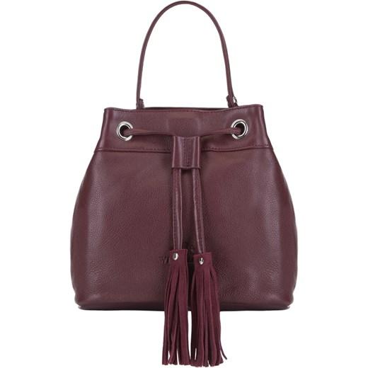 ff3415af60771 Wittchen shopper bag do ręki ze skóry w Domodi
