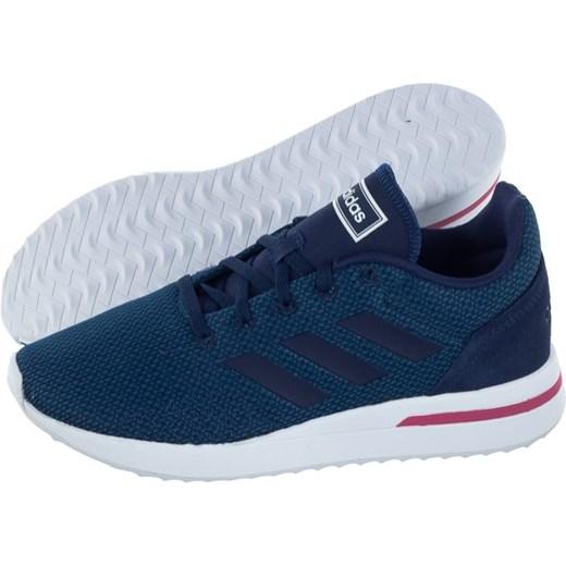 Buty sportowe damskie Adidas do biegania niebieskie bez wzorów