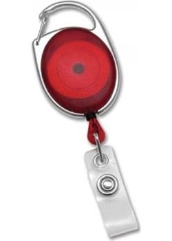 ✅ Smycz Zwijana do Identyfikatorów oraz Kluczy - Czerowny  Koruma® Koruma ID Protection - kod rabatowy