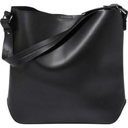 21461d3423fc2 Shopper bag Even Odd bez dodatków na ramię matowa ze skóry casual mieszcząca  a8
