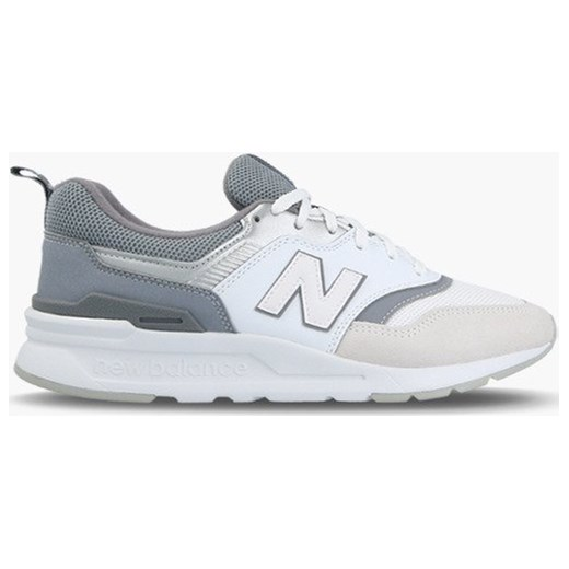 f7803aaf386446 Buty sportowe damskie New Balance dla biegaczy młodzieżowe sznurowane  beżowe na koturnie