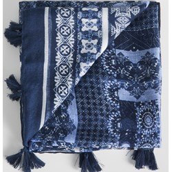 db421a0f1b Niebieskie szaliki i chusty damskie