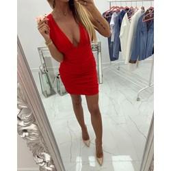 e90c6b57f8 Sukienka czerwona mini