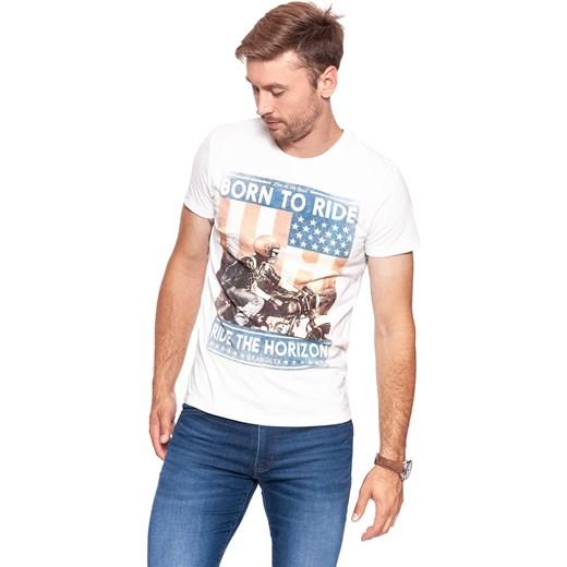 T shirt męski Diverse Odzież Męska NL szary T shirty męskie