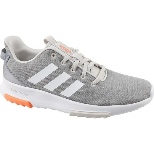 95c13bd3b1203 Adidas buty sportowe damskie sneakersy cloudfoam wiązane na koturnie ...