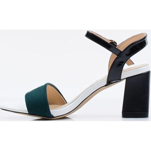 sprzedaż Sandały damskie Monnari skórzane na obcasie Buty