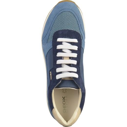 175d193459856 ... Buty sportowe damskie Geox sneakersy w stylu młodzieżowym sznurowane na  platformie