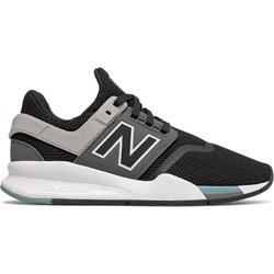 6768c73b Buty sportowe damskie czarne New Balance dla biegaczy na koturnie