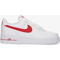 dostępny zniżka zegarek Buty sportowe damskie Nike do biegania air force białe bez wzorów