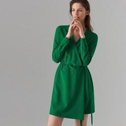 9236c886d2ff Sukienka Mohito bez wzorów kopertowa