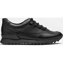 0e3a0f6b561762 Buty sportowe damskie Kazar sneakersy młodzieżowe gładkie ze skóry