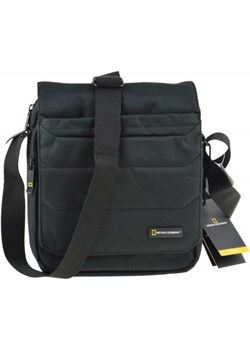 National Geographic torba na ramie z klapa czarna National Geographic szary galanter - kod rabatowy