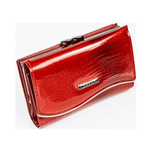 38f805c87c1d1 Portfel damski Lorenti czerwony glamour w Domodi