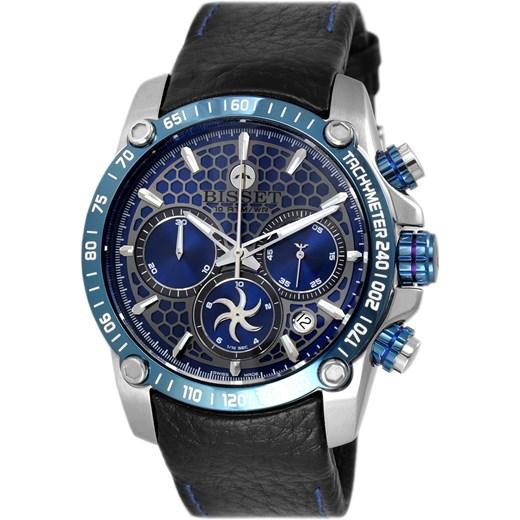 b8d28a13be8c96 Szwajcarski zegarek Męski BISSET Chronograph World Bisset alleTime.pl