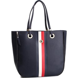 d40f0abf4686a Shopper bag Tommy Hilfiger bez dodatków matowa casual ...