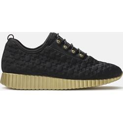 3155ad19c98b96 Buty sportowe damskie Kazar sneakersy w stylu młodzieżowym skórzane na  koturnie