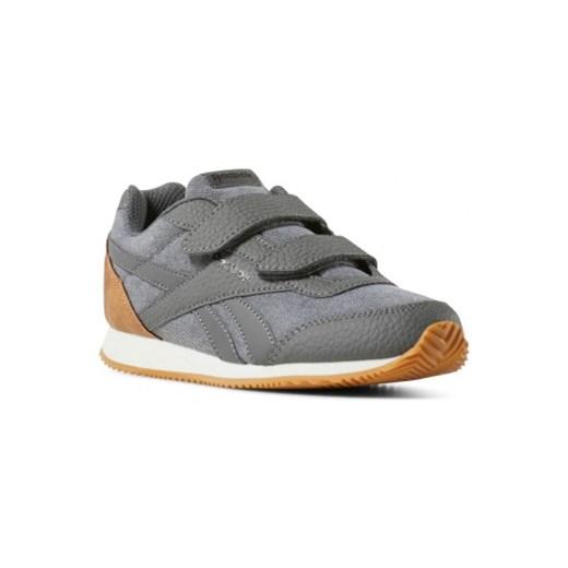 Buty sportowe dziecięce Reebok niebieskie na rzepy bez wzorów