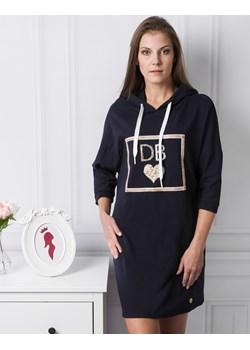Granatowa Bluza DB  Di Bellezza La Princesita - kod rabatowy