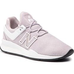 Buty sportowe damskie Nike do biegania flex ze skóry ekologicznej wiazane wielokolorowe gladkie