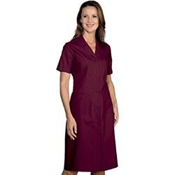 45a351c946 Sukienka czerwona Robinson z krótkim rękawem na lato