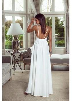 Sukienka Megan-ecru  Emo Sukienki Pawelczyk24.pl - kod rabatowy