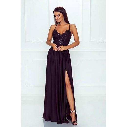 1402efa754 Sukienka Emo Sukienki granatowa na bal na karnawał w Domodi
