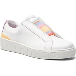 d26b43c9866dc Białe buty damskie tommy hilfiger, wyprzedaż, lato 2019 w Domodi