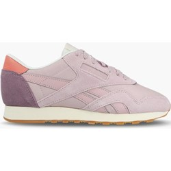 712e4dc87 Buty sportowe damskie różowe Reebok Classic dla biegaczy nylon płaskie  sznurowane