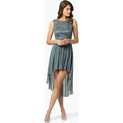 32b6dd3068 Sukienka Marie Lund na studniówkę z okrągłym dekoltem glamour na bal