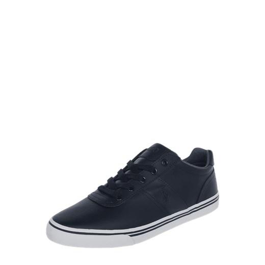 7cf25c4f9d17b Trampki męskie Polo Ralph Lauren młodzieżowe sznurowane skórzane na jesień;  Sneakersy skórzane z wyhaftowanym logo Polo Ralph Lauren 43  Peek&Cloppenburg