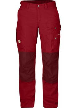 Spodnie damskie Fjallraven W Barents Pro Deep Red / Ox Red Fjällräven  alpinsklep.pl - kod rabatowy