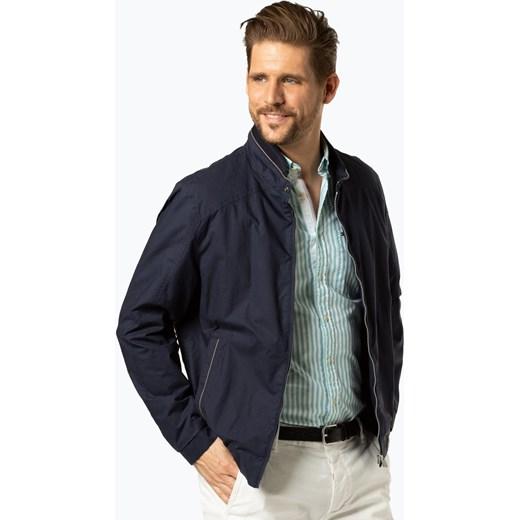 618e0bbc9f0e2 Niebieska kurtka męska Bugatti bez wzorów jesienna w Domodi