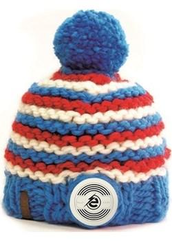 Bluetooth® Handmade Striped Blue-Red-White  Earebel earebel.pl okazja  - kod rabatowy