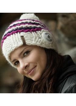 Bluetooth® Handmade Striped White-Purple-Pink Earebel  promocyjna cena earebel.pl  - kod rabatowy