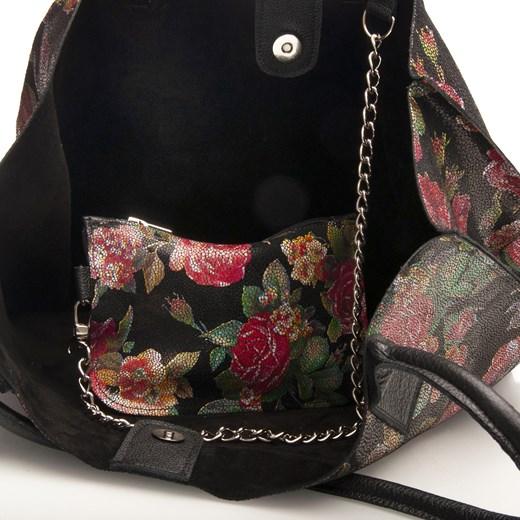 4dc040be62d5e Arturo Vicci shopper bag bez dodatków duża w stylu młodzieżowym ...