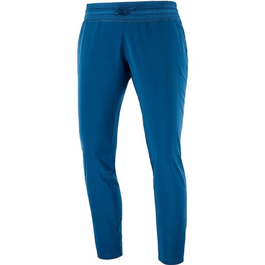 Spodnie damskie Salomon niebieskie jesienne w Domodi