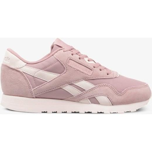 Reebok buty sportowe damskie sneakersy nylon rÓżowe