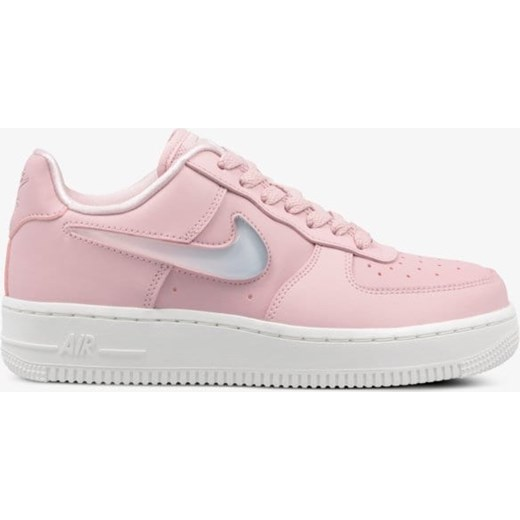 Buty sportowe damskie Nike do koszykówki air force gładkie różowe sznurowane