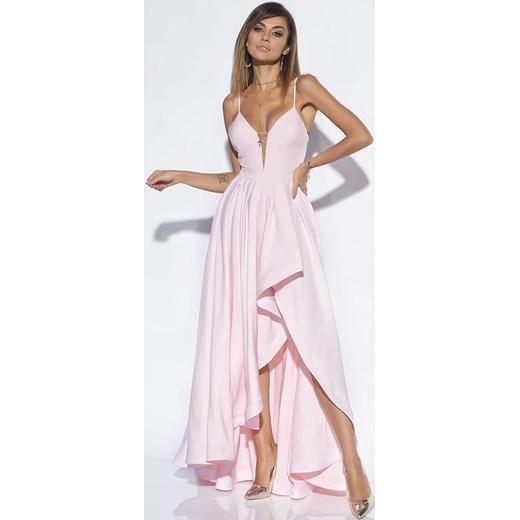 90fbe91963 Sukienka Lou na ramiączkach na bal maxi karnawałowa w Domodi