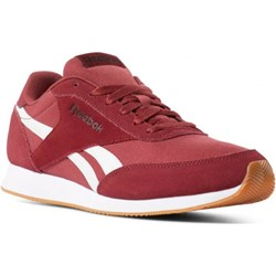 edd9fed69c1883 Czerwone buty sportowe męskie Reebok royal jesienne ze skóry ekologicznej  sznurowane