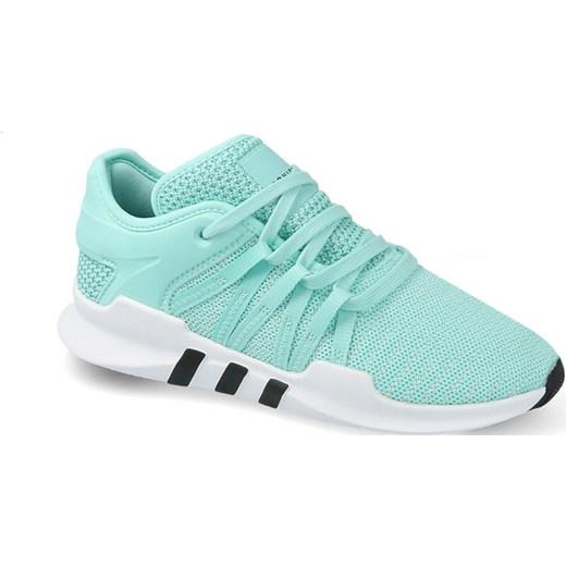 renomowana strona niska cena sprzedaży tanie z rabatem Buty sportowe damskie Adidas Originals eqt support niebieskie sznurowane  skórzane